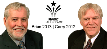 Brian and Garry North