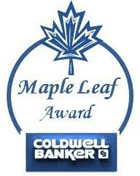 Coldwell Banker Maple Leaf Award