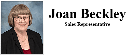 Joan Beckley - Sales Representative