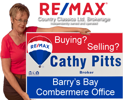 Cathy Pitts - Broker - RE/MAX Country Classics Ltd. Brokerage