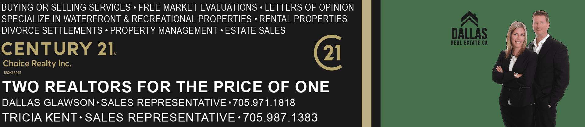 Dallas Glawson & Tricia Kent - Sales Representative