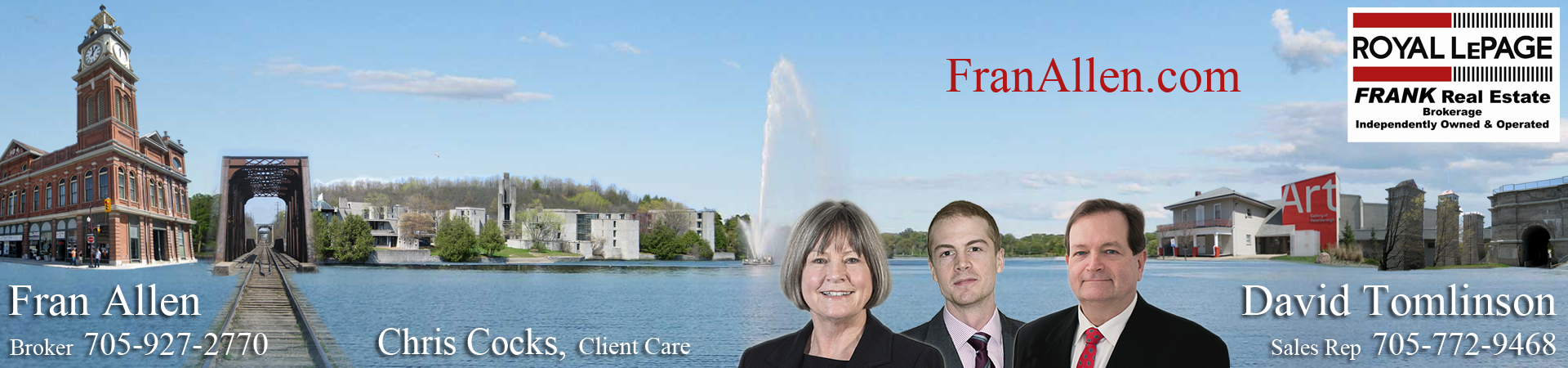 Fran Allen & David Tomlinson - Royal LePage FRANK Real Estate
