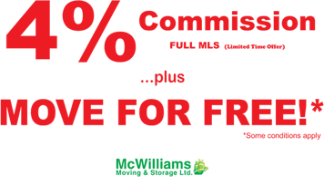 4% Commission - Move For FREE