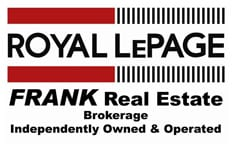FRANK Real Estate logo in banner