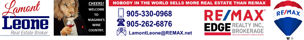 Lamont Leone - RE/MAX Edge Realty Inc. Brokerage