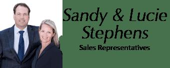 Sandy and Lucie Stephens Sales Representatives
