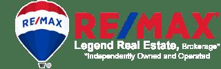 remax legend real estate brokerage logo