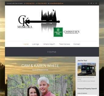 Cameron & Karen White